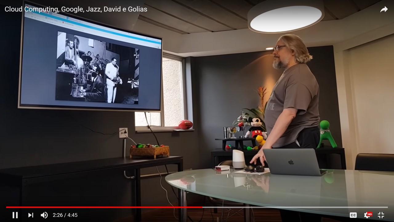 Cloud Computing, Google, Jazz, David E Golias